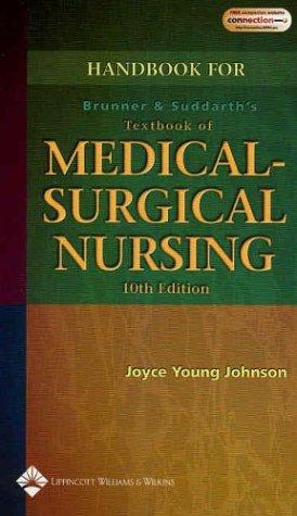 Download Handbook to Accompany Brunner and Suddarth's Textbook of Medical-Surgical Nursing
