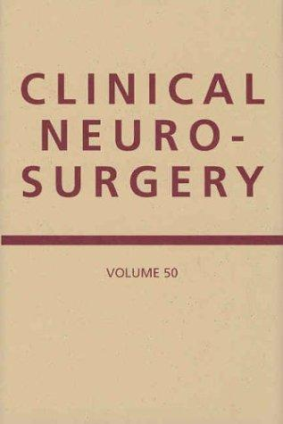 Download Clinical Neurosurgery