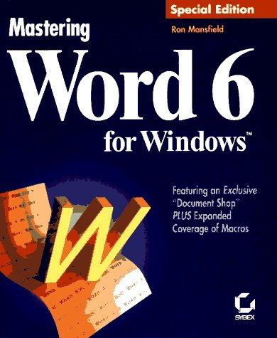 Download Mastering Word 6 for Windows