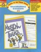 Vocabulary Centers(Grades 4-5)