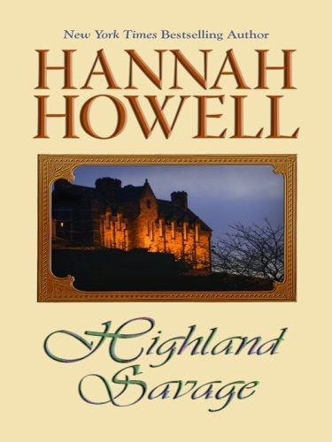 Highland Savage (Wheeler Large Print Book Series)