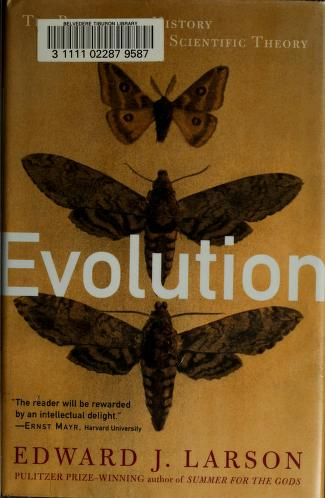 Cover of: Evolution | Edward J. Larson