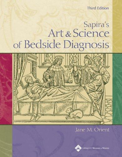 Sapira's art & science of bedside diagnosis by Jane M. Orient
