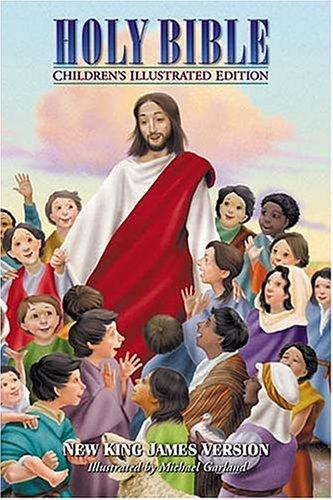 Holy Bible, Children's Illustrated Edition Beautiful Art To Draw Kids Into The Scriptures