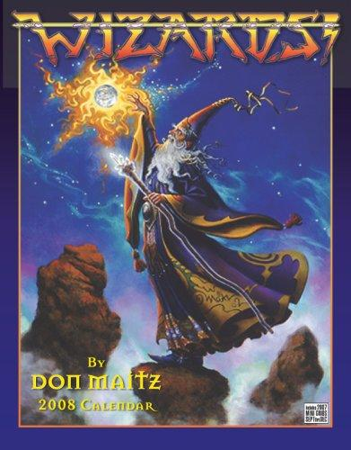 Wizards 2008 Calendar by Don Maitz