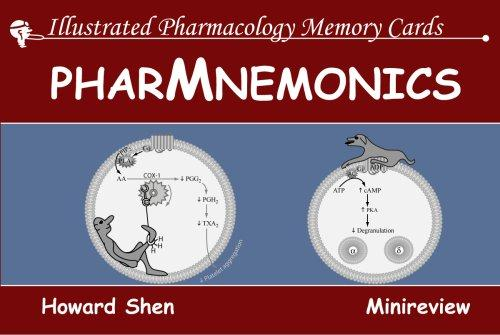 Illustrated Pharmacology Memory Cards by Howard Shen